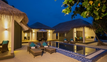 Two-Bedroom Suite with Private Pool Outdoor