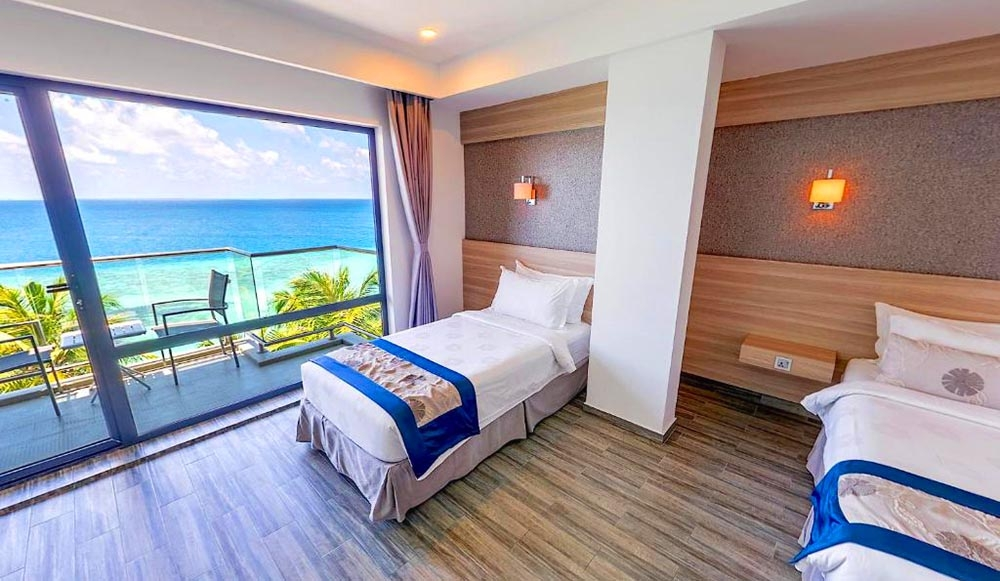 Deluxe Family Room Sea View with Balcony