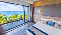 Deluxe Quadruple Room Sea View with Balcony